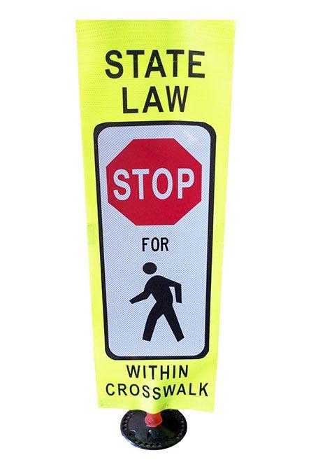 Light Weight Yield to Pedestrian2